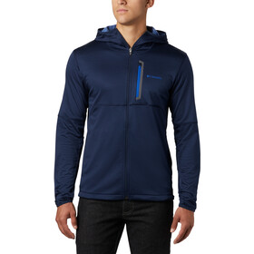 Columbia Tech Trail Capuchon Trui met Doorlopende Rits Heren, collegiate navy